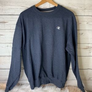 Men's Blue Champion Sweatshirt